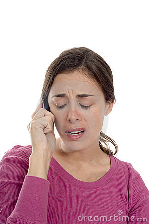 Woman Upset On Phone Royalty Free Stock Photos - Image ...  Upset Person On Phone