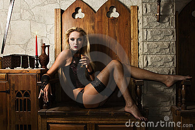 Woman vamp