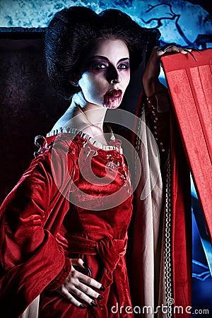 Woman vampire