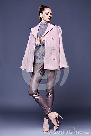 Free Woman Wear Business Style Clothing For Office Casual Meeting Out Stock Photos - 103738963