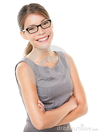 Woman wearing glasses eyewear