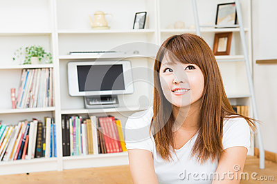 Woman who is relaxed