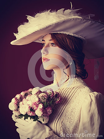 Free Woman With Cup Of Tea Royalty Free Stock Photos - 35239288