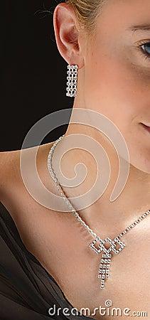 Free Woman With Jewel Stock Photo - 1050160