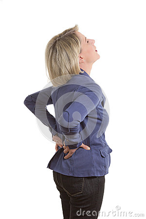 Free Woman With Low Back Pain Stock Photo - 37469780