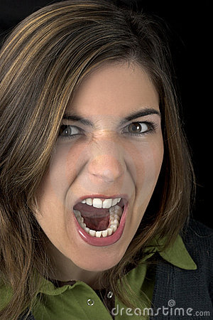 Free Woman Yelling Royalty Free Stock Photography - 664237