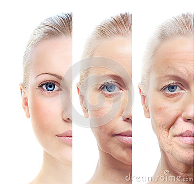 Free Womans Portrait 20,40,60 Years Old. Stock Photo - 35341260