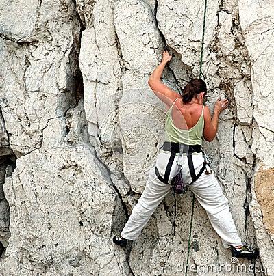 Women climber 1