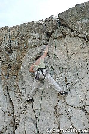 Women climber 2