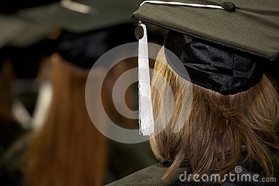 Women at a Commencement Ceremony