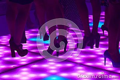 Women in the disco