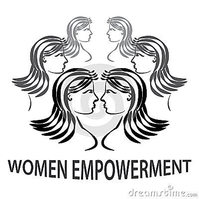 Women Empowerment Stock Vector - Image: 57772311