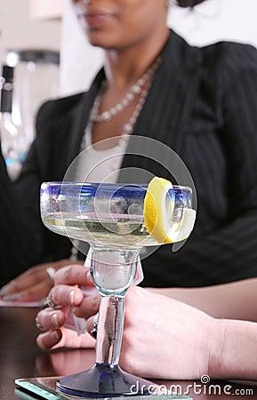 Women Enjoying Cocktails