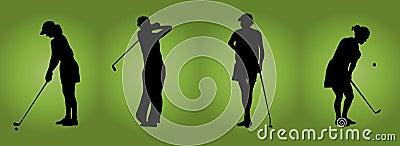 Women At Golf
