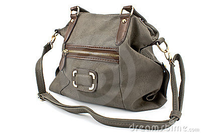 Women gray bag