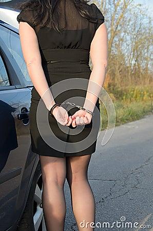 Handcuffed women photos 24