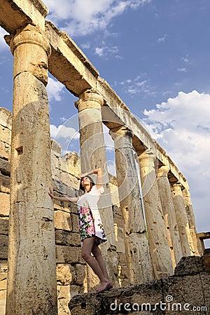 Women is history between the columns