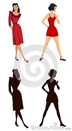 Women illustrations