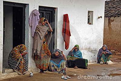 Women in India Editorial Image