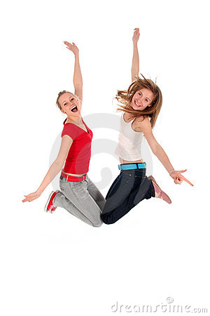 Free Women Jumping Stock Photos - 4071983
