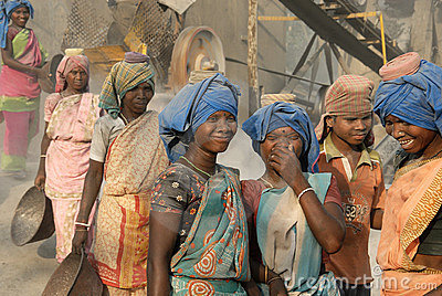 Women Labour in India Editorial Image