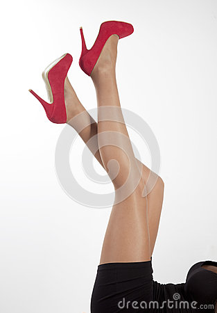 Free Women Legs Royalty Free Stock Images - 35214009