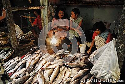 Women market in India Editorial Stock Photo