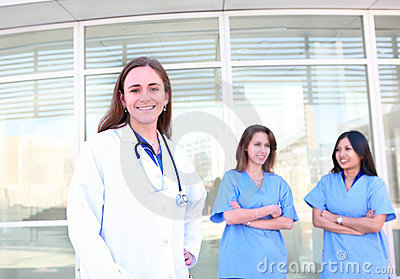Women Medical Team Partnership