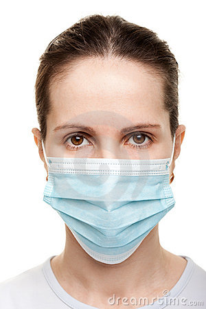Women in medicine mask