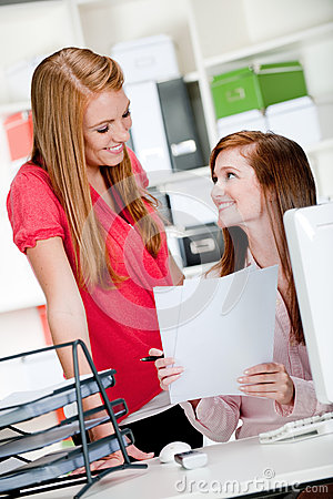 Women at Office Desk