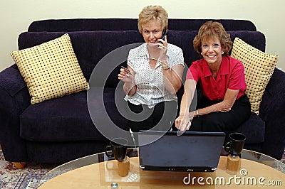 Women online shopping