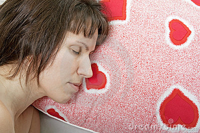 Women on pillow