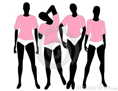 Women Pink T-Shirts Bloomers