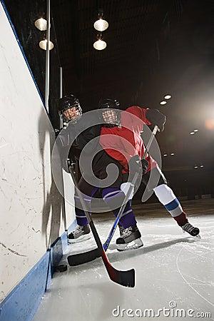 Free Women Playing Hockey. Stock Photos - 2676893