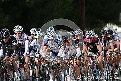 Women racers Editorial Photo