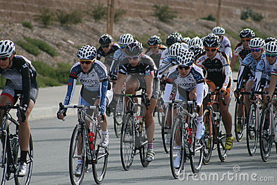 Women racers Editorial Stock Image