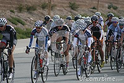 Women racers Editorial Stock Image