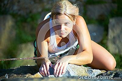 Women s climbing