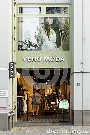 Women s clothing Vero Moda on Kurfuerstendamm Editorial Photo