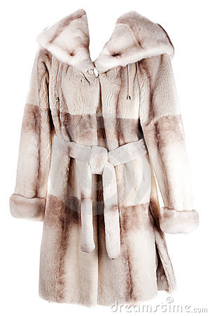 Women s coat of fur