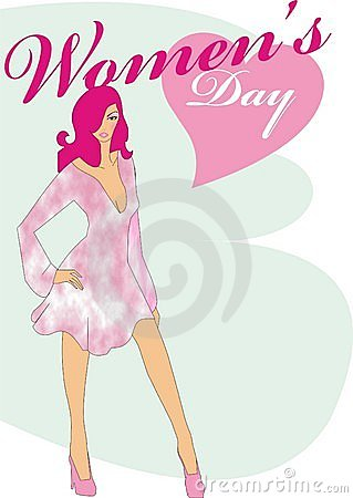 Women s day model