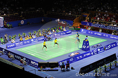 Women s Doubles,Badminton asia championships 2011 Editorial Stock Image