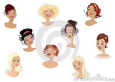 Women s faces