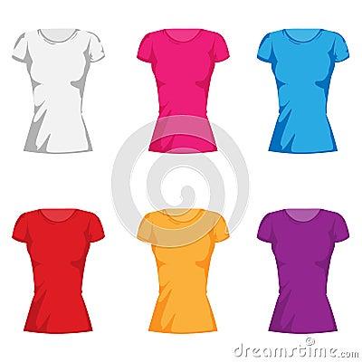 Women s fashion t-shirt collection set