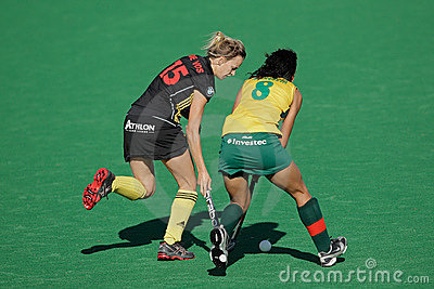 Women s field hockey Editorial Image