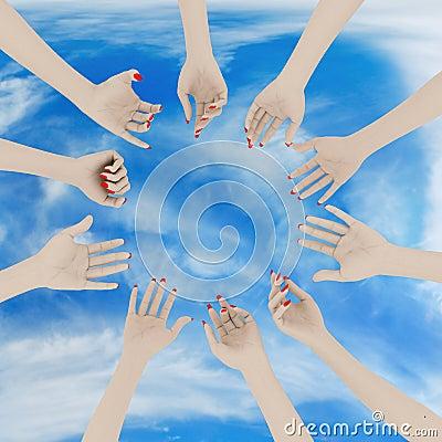 Women s hands