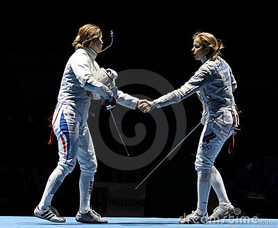 Women s national teams of France and Russia Editorial Stock Photo