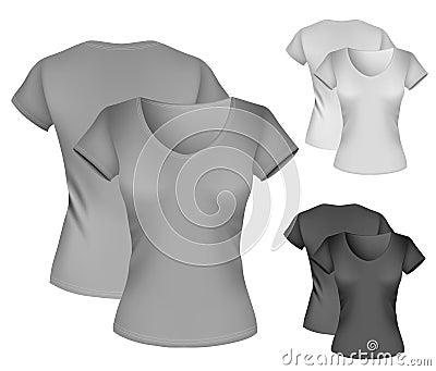 Womens Black Tshirt Template Women-s-t-shirt-template- ...