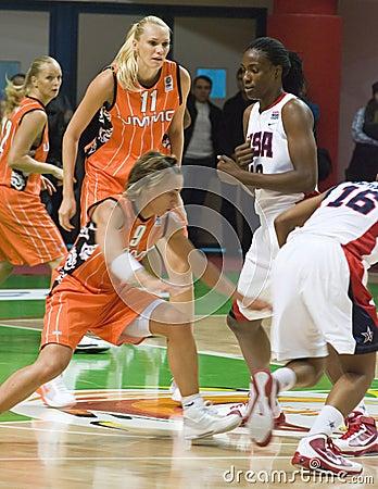 Women s team USA Basketball Editorial Photography