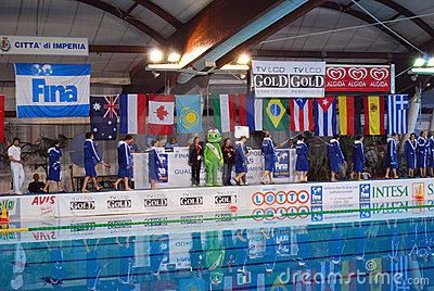 Women s water polo - Italy Editorial Stock Image
